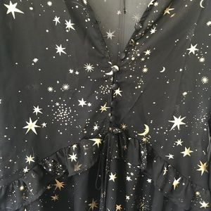 Dresses - Galaxy print dress